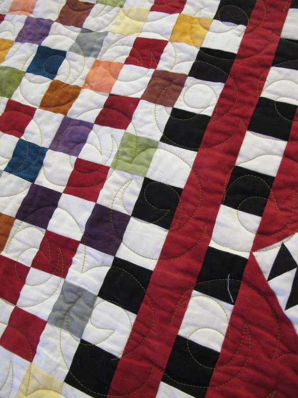 Colorplay by Pati Fried, quilting by Kerry Reed