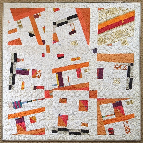 A Handful of Scraps by Pam Rocco, quilted by Linda Barbin