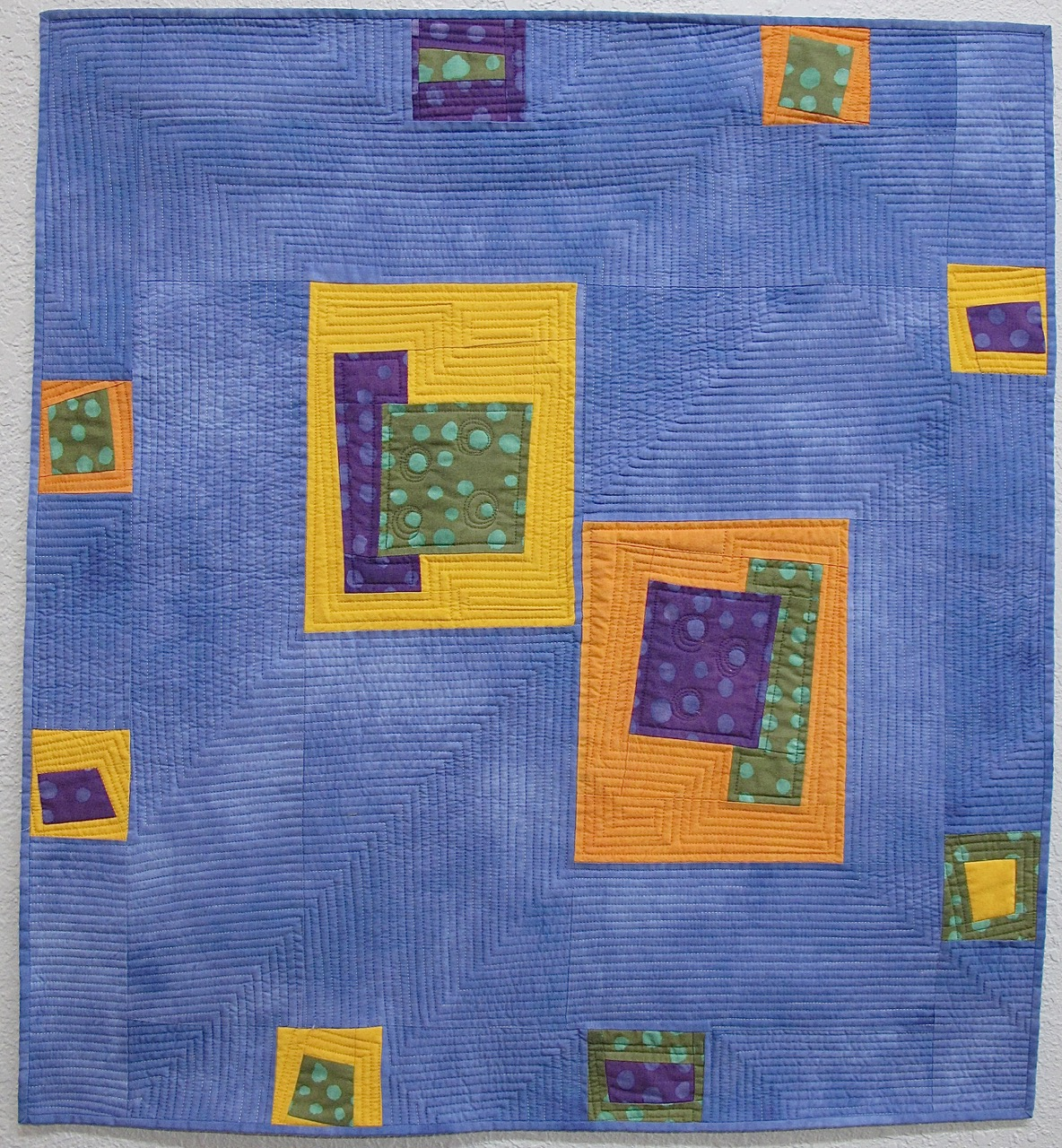 Plaid Baby Quilt: Baby Quilt By Cathy Miranker