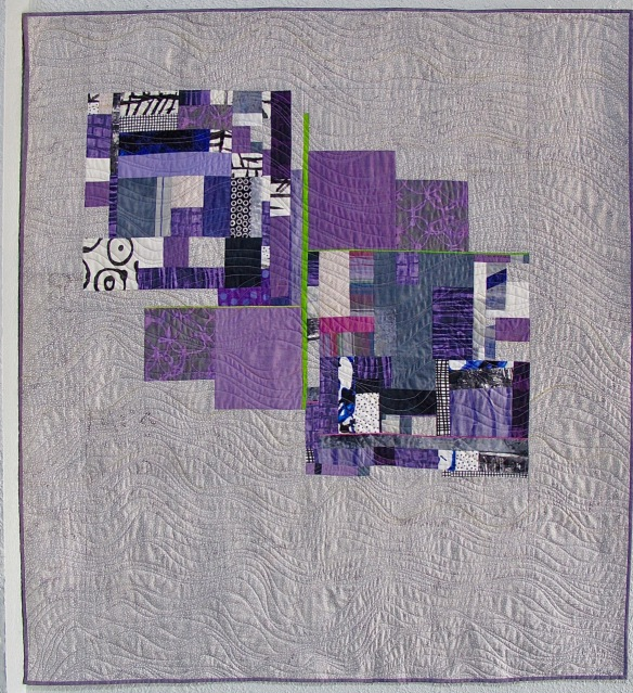 Six Patch Study #2 by Cathy Miranker