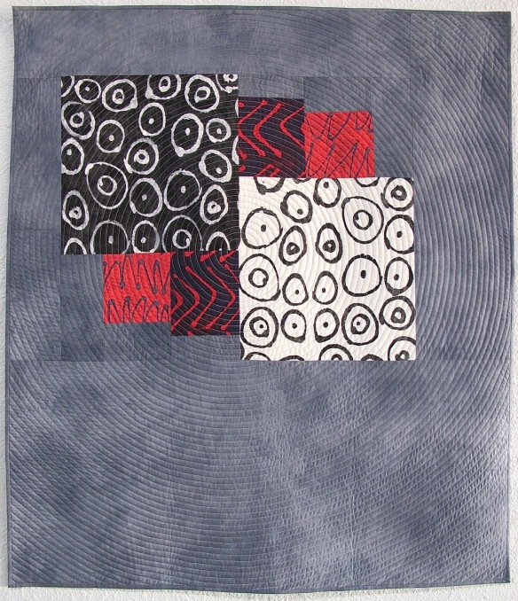 Six Patch Study by Cathy Miranker