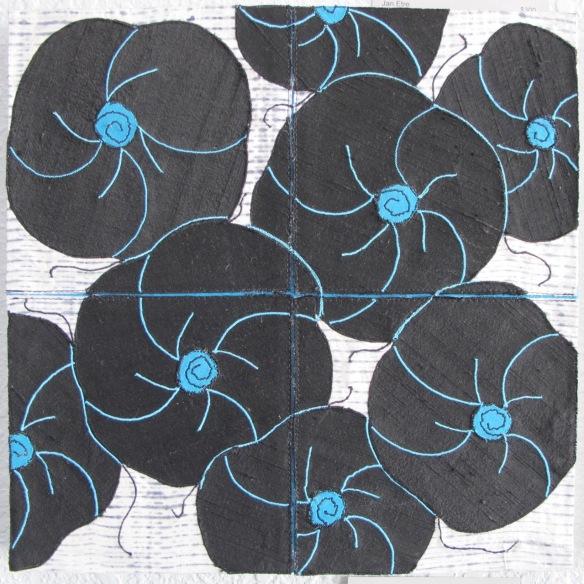 Black Blossoms 2 by Jan Etre