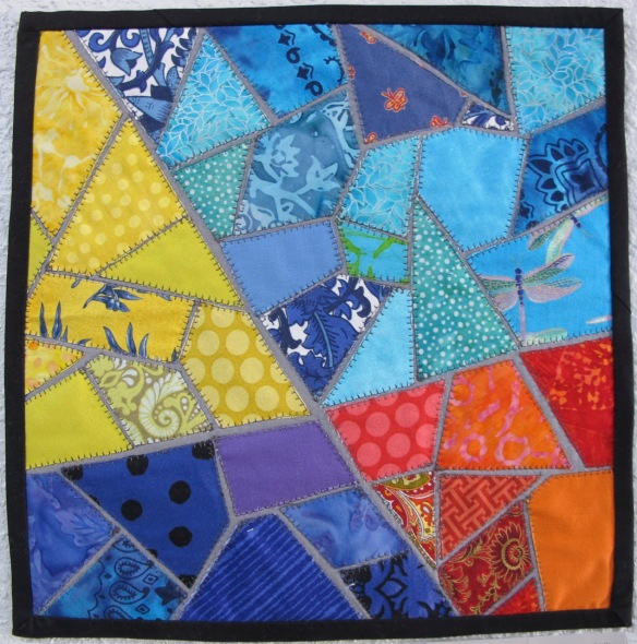 Mosaic Quilt by Mary Spadaro