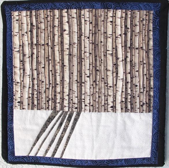 West Hawley Winter Meadow by Julie Oyle