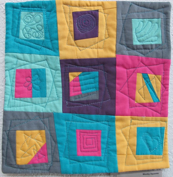 Wonky Squares by Jane Voytek