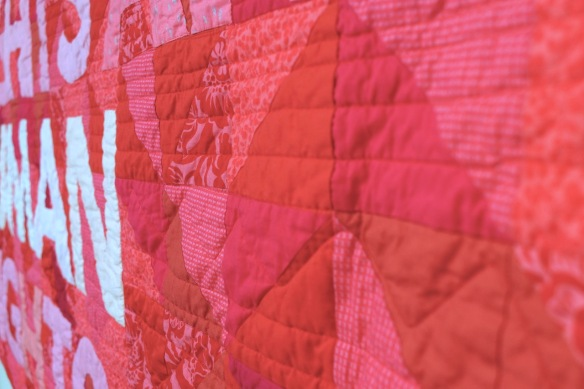 The Feminist Quilt by Darci AlexisE