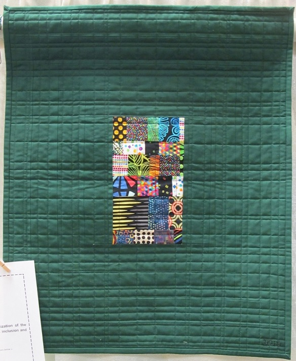 City Block by Lee Schulstad, quilted by Diane Torres