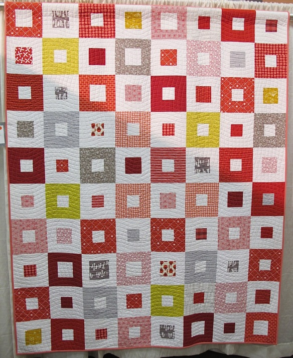 Kira's Modern Quilt by Anna Chan