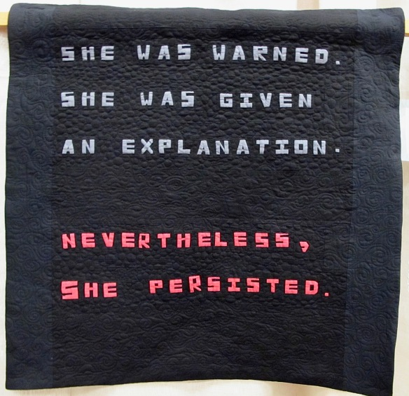Nevertheless She Persisted by Lorraine Woodruff-Long