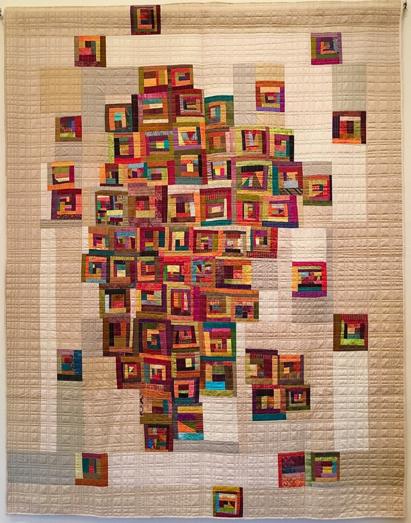 Untitled by Patricia Smith, quilted by Sue Fox